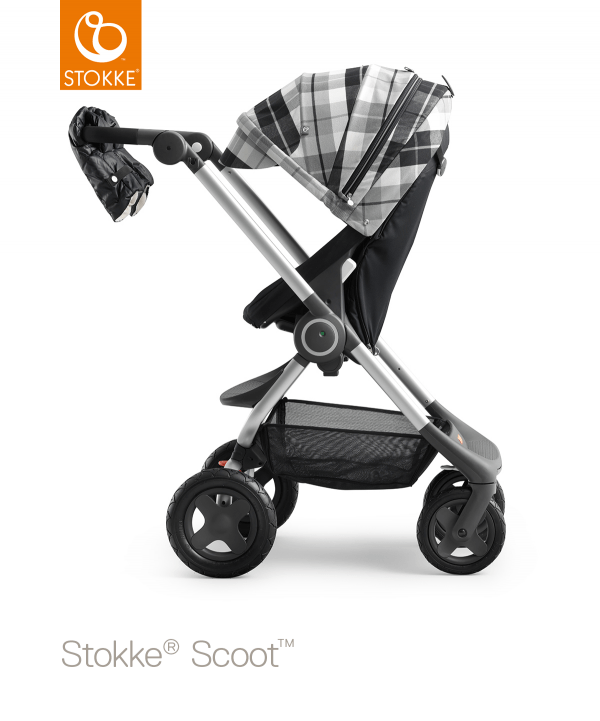 stokke scoot зимой
