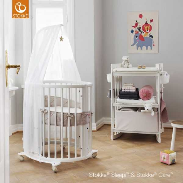 Stokke Sleepi Mini бампер натурал