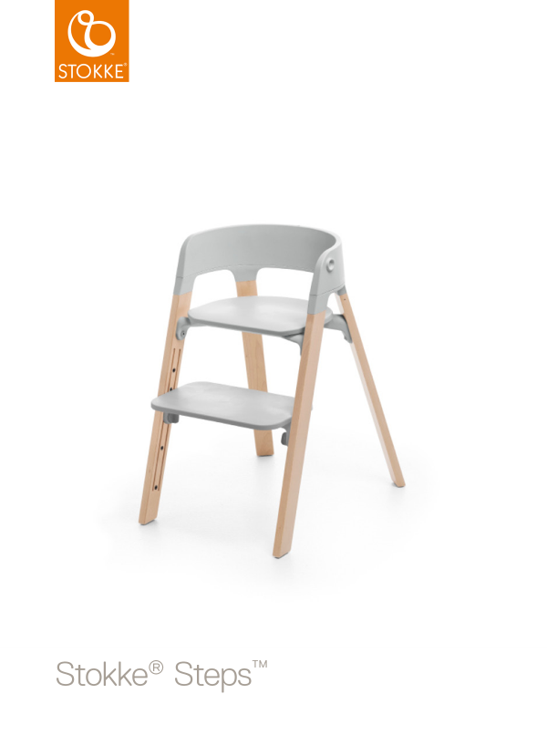 Сиденье Stokke Steps Baby Set Серое